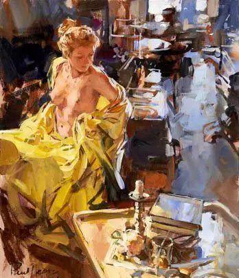 油画世界 英国Paul.Hedley绘画欣赏插图35