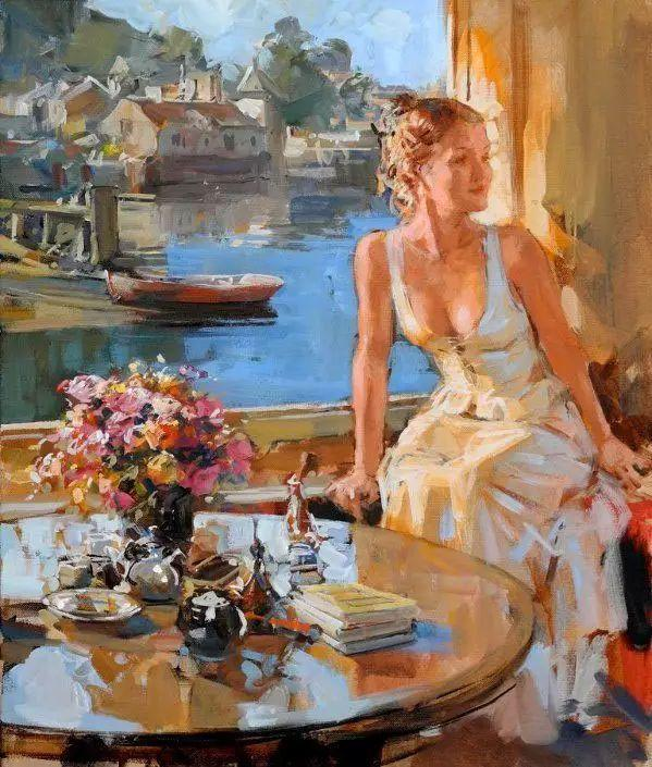 油画世界 英国Paul.Hedley绘画欣赏插图37