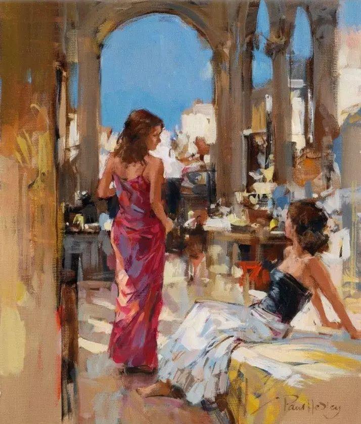 油画世界 英国Paul.Hedley绘画欣赏插图39