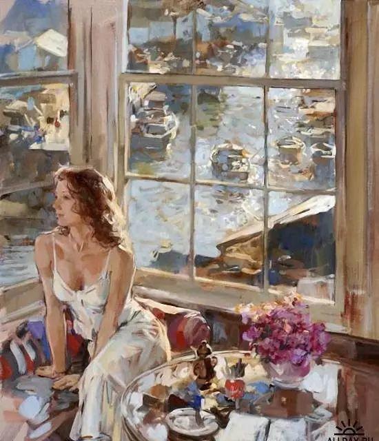 油画世界 英国Paul.Hedley绘画欣赏插图41