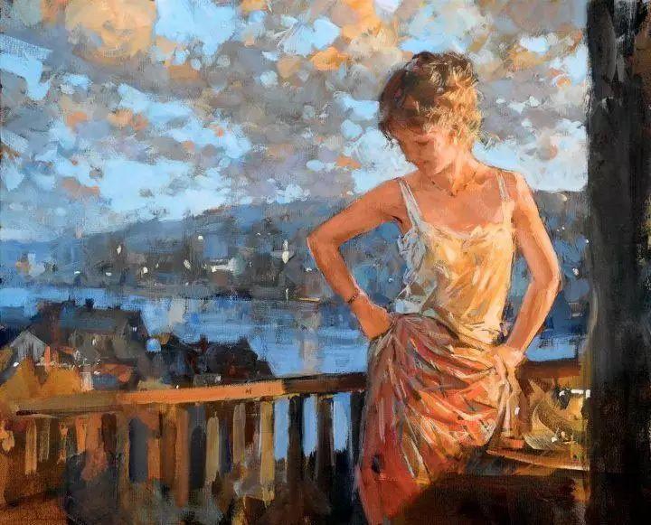 油画世界 英国Paul.Hedley绘画欣赏插图43