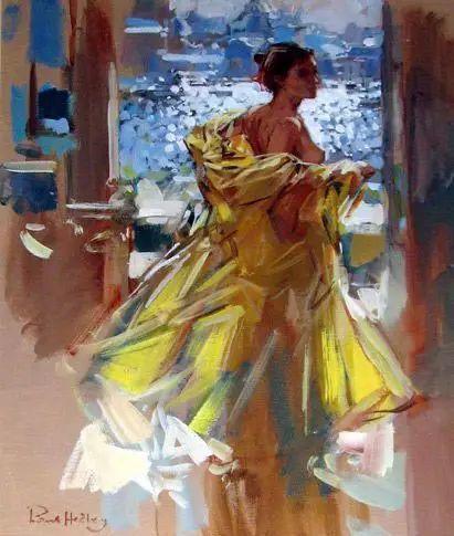 油画世界 英国Paul.Hedley绘画欣赏插图45