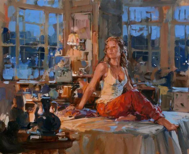 油画世界 英国Paul.Hedley绘画欣赏插图49