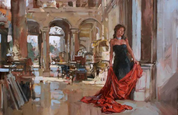 油画世界 英国Paul.Hedley绘画欣赏插图51