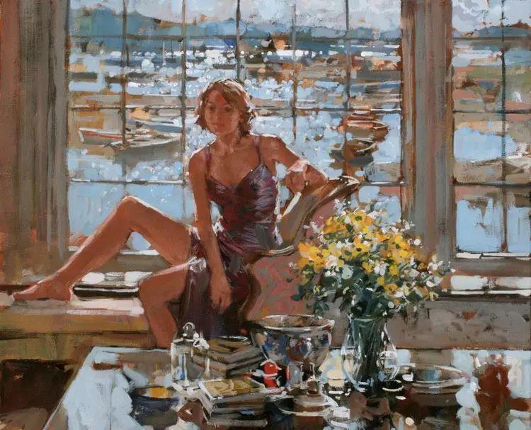 油画世界 英国Paul.Hedley绘画欣赏插图53