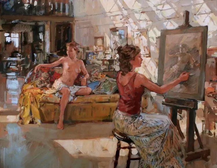 油画世界 英国Paul.Hedley绘画欣赏插图55