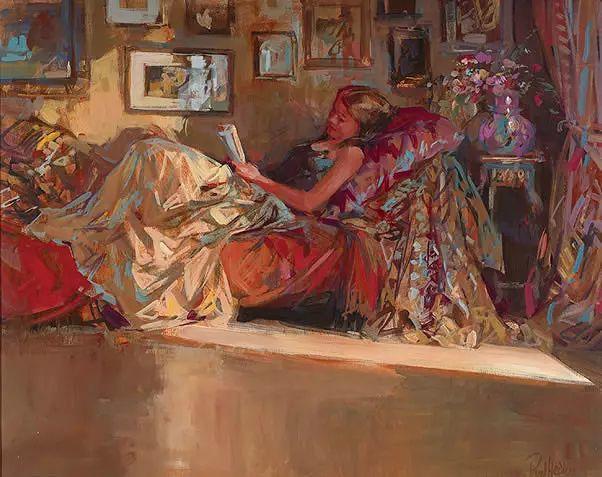 油画世界 英国Paul.Hedley绘画欣赏插图57