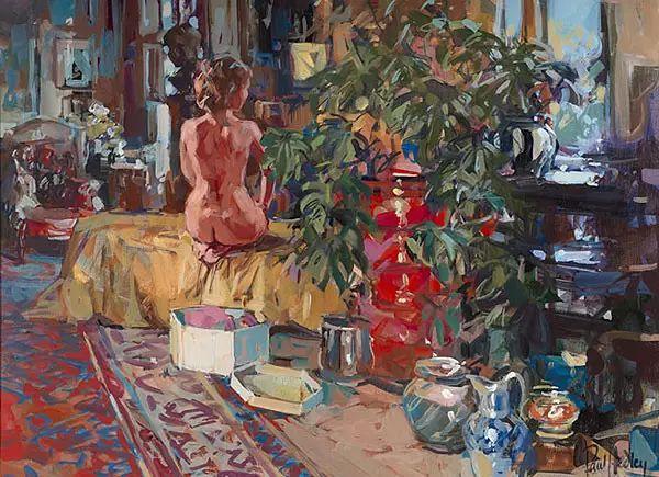 油画世界 英国Paul.Hedley绘画欣赏插图59