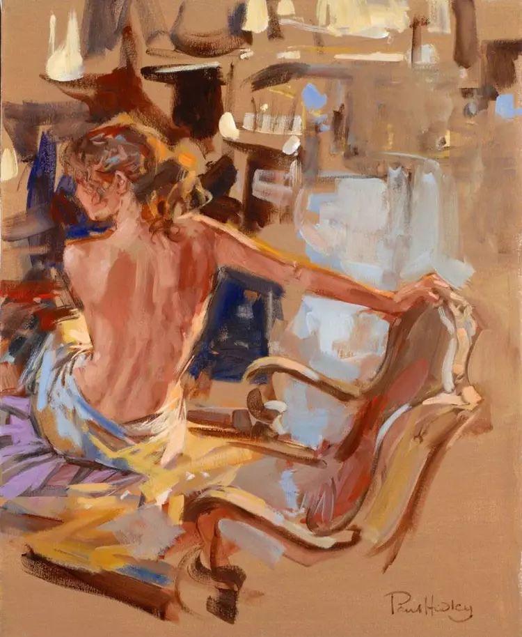 油画世界 英国Paul.Hedley绘画欣赏插图63