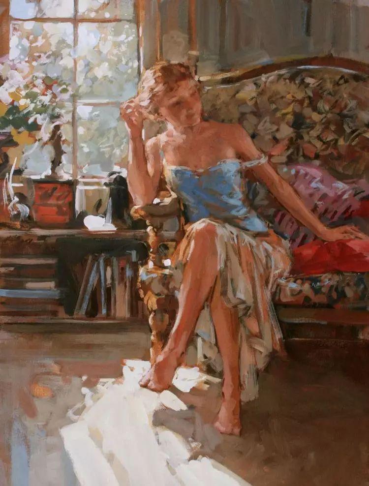 油画世界 英国Paul.Hedley绘画欣赏插图65