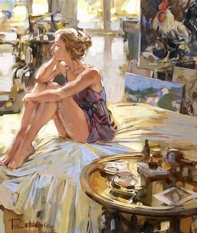 油画世界 英国Paul.Hedley绘画欣赏插图67