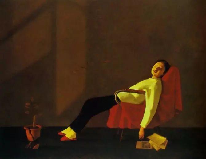 人物油画:睡美人插图25