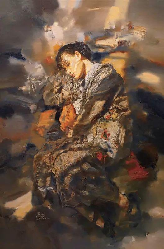 人物油画:睡美人插图49