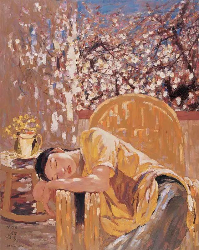 人物油画:睡美人插图63
