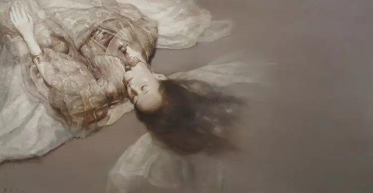 人物油画:睡美人插图73