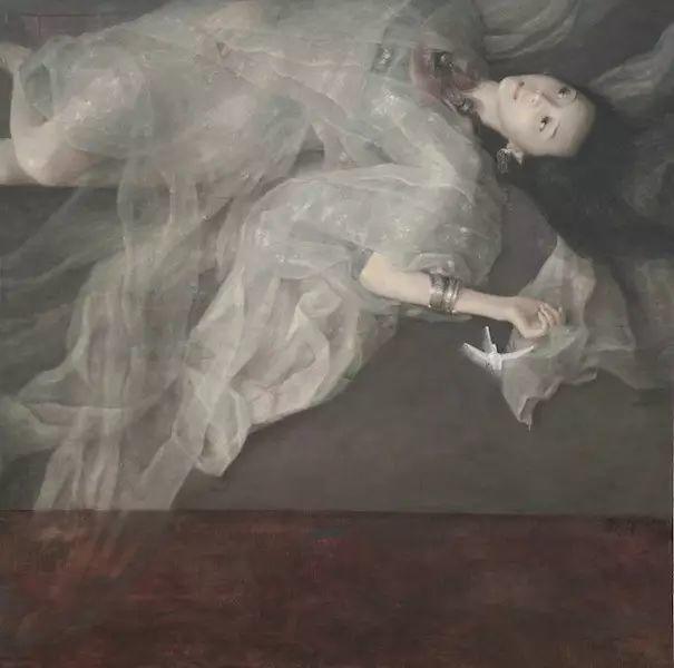 人物油画:睡美人插图75