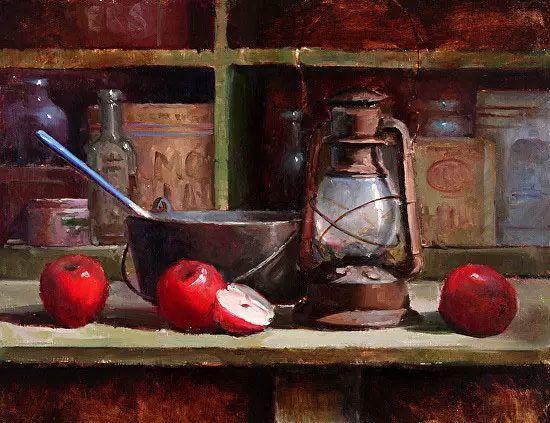 美国女画家凯茜.泰特静物画欣赏插图89