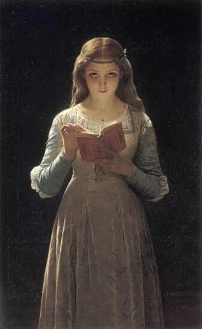 油画世界 法国皮埃尔以神迹为主题的肖像画插图7
