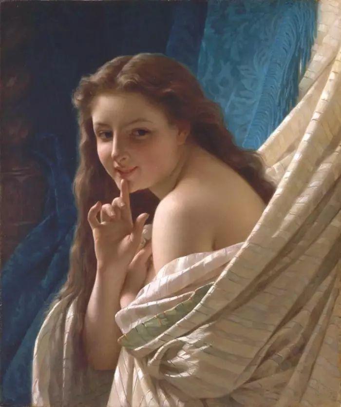 油画世界 法国皮埃尔以神迹为主题的肖像画插图11