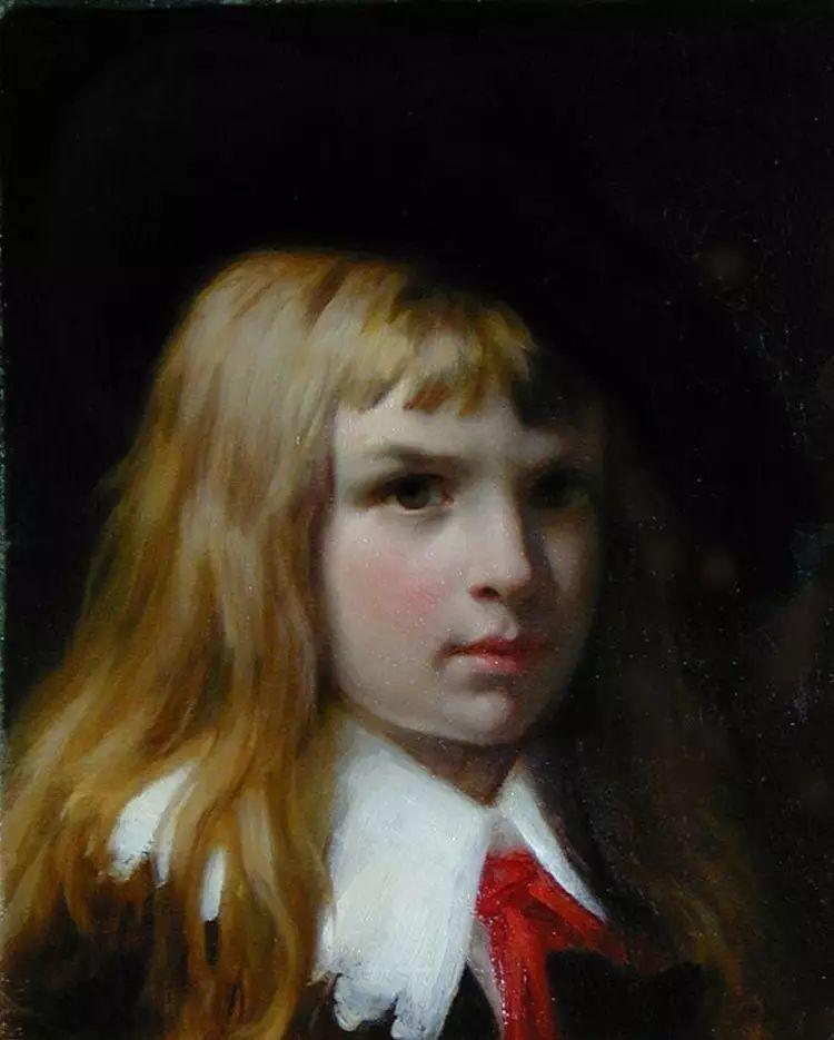 油画世界 法国皮埃尔以神迹为主题的肖像画插图13
