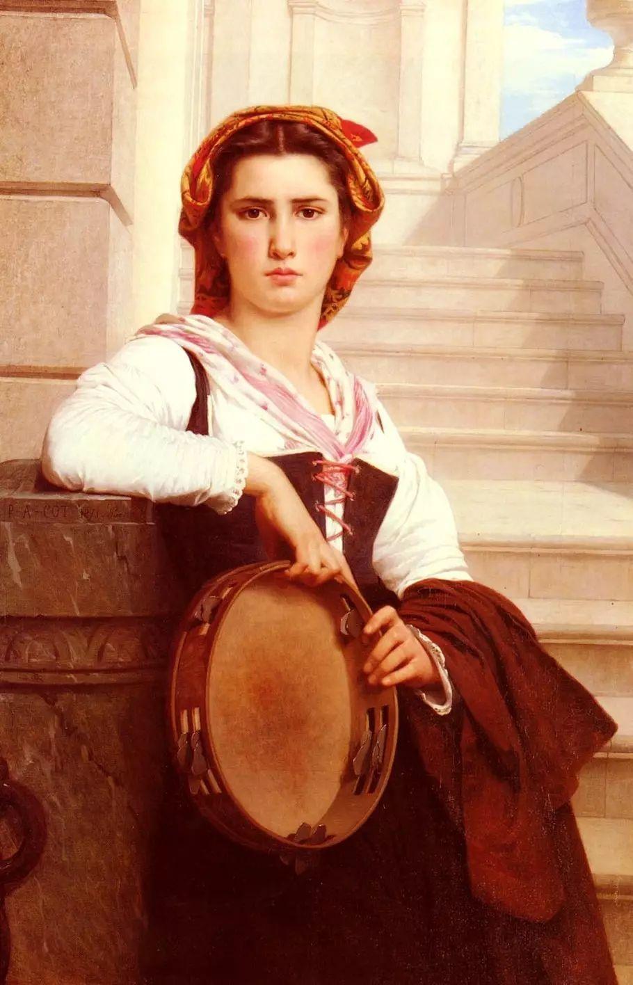 油画世界 法国皮埃尔以神迹为主题的肖像画插图15