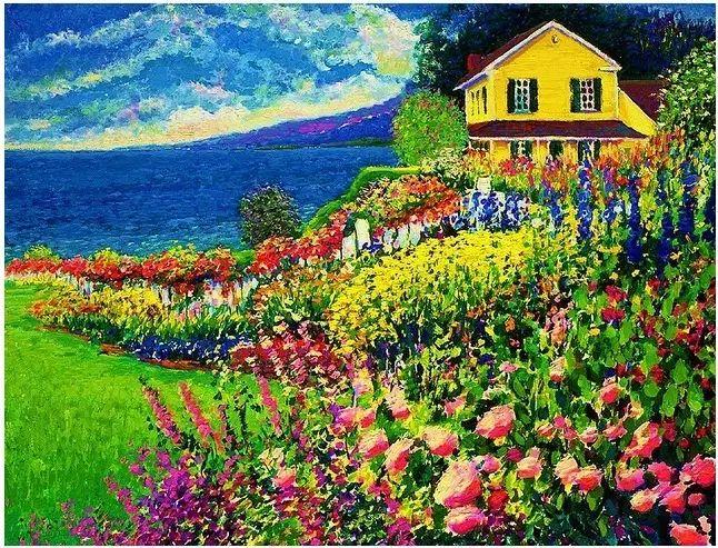 色彩饱满 加拿大Guy Begin油画风景欣赏插图1