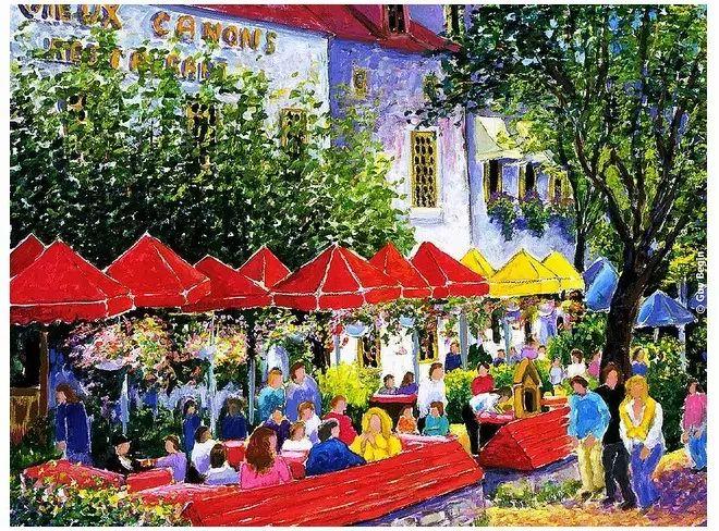 色彩饱满 加拿大Guy Begin油画风景欣赏插图13