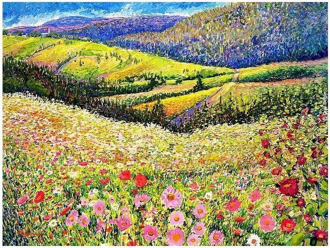 色彩饱满 加拿大Guy Begin油画风景欣赏插图19