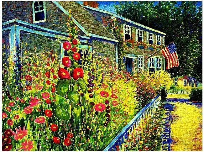 色彩饱满 加拿大Guy Begin油画风景欣赏插图21