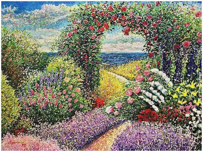 色彩饱满 加拿大Guy Begin油画风景欣赏插图29