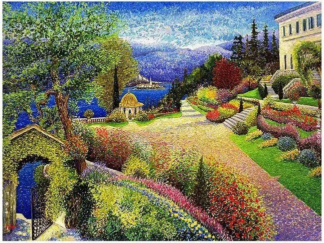 色彩饱满 加拿大Guy Begin油画风景欣赏插图31