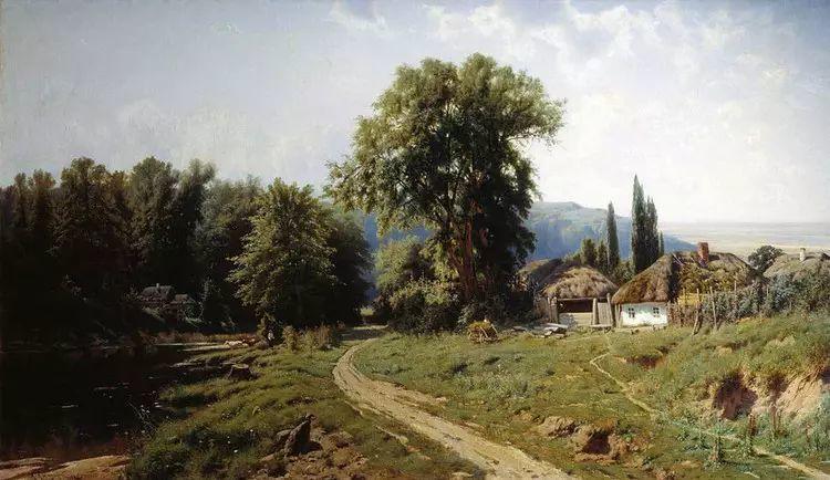 俄罗斯康斯坦丁风景油画作品插图3