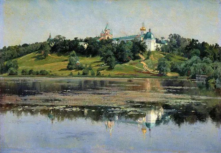 俄罗斯康斯坦丁风景油画作品插图7