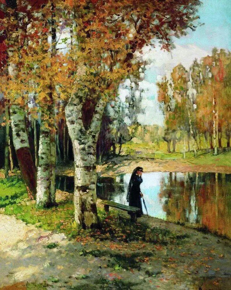 俄罗斯康斯坦丁风景油画作品插图17
