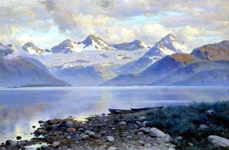 俄罗斯康斯坦丁风景油画作品插图19
