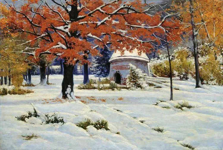 俄罗斯康斯坦丁风景油画作品插图27