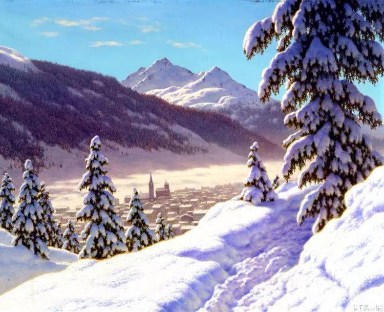 俄罗斯康斯坦丁风景油画作品插图31