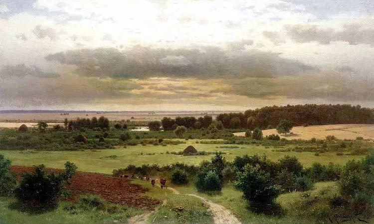 俄罗斯康斯坦丁风景油画作品插图41