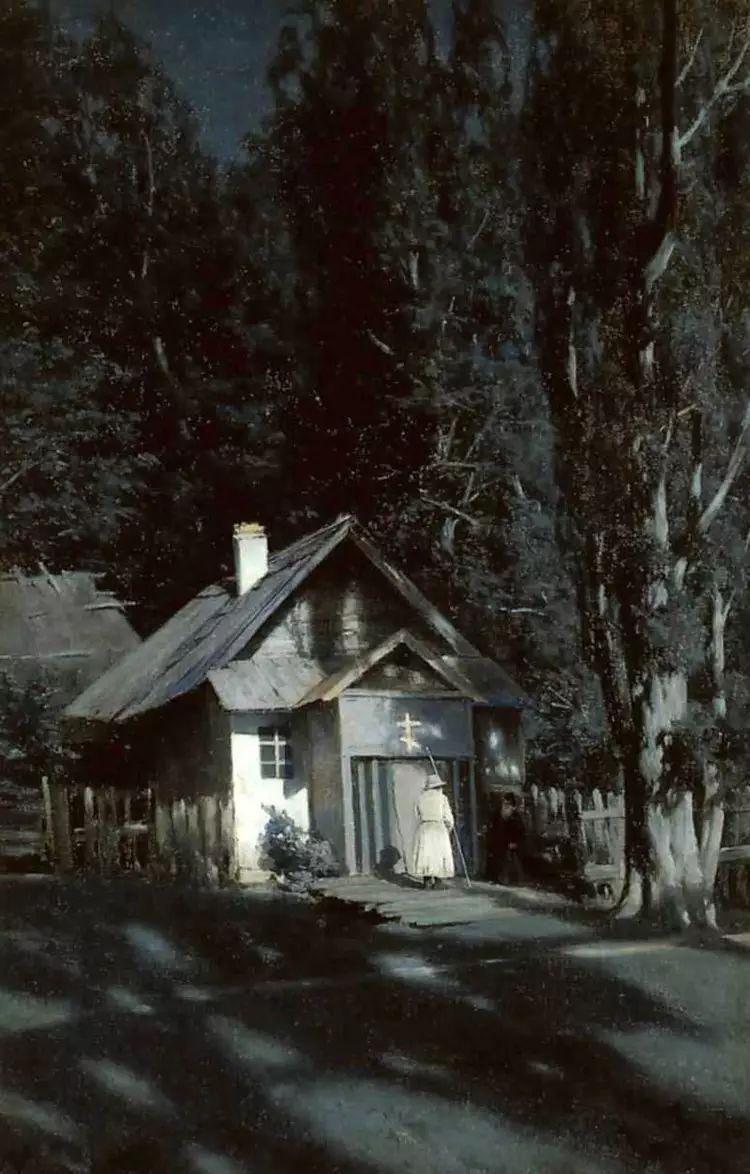 俄罗斯康斯坦丁风景油画作品插图43