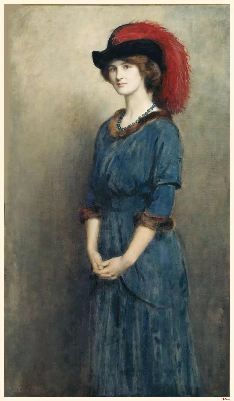 马背上的Godiva夫人作者油画作品欣赏插图31