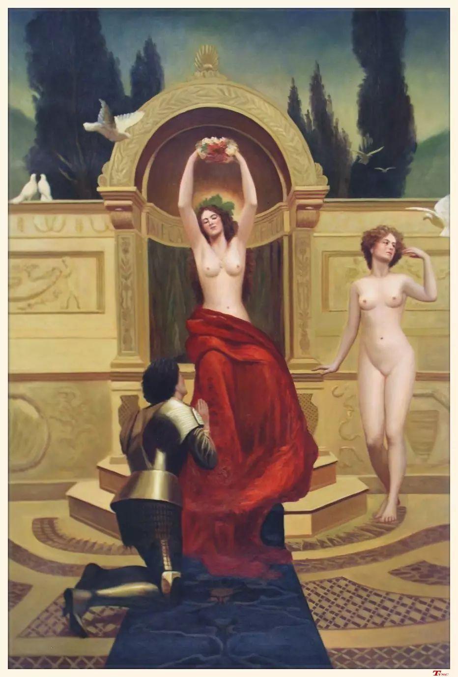 马背上的Godiva夫人作者油画作品欣赏插图33