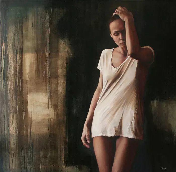 油画世界 意大利女画家维多利亚.诺瓦克绘画欣赏插图1