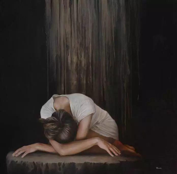 油画世界 意大利女画家维多利亚.诺瓦克绘画欣赏插图5