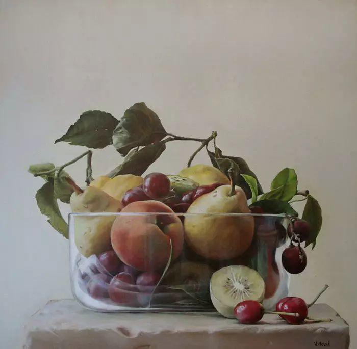 油画世界 意大利女画家维多利亚.诺瓦克绘画欣赏插图21