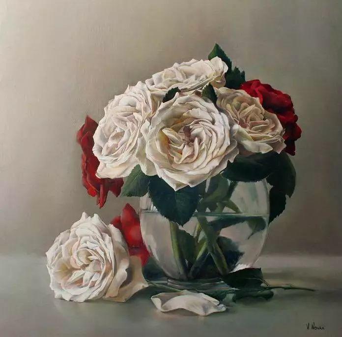 油画世界 意大利女画家维多利亚.诺瓦克绘画欣赏插图23