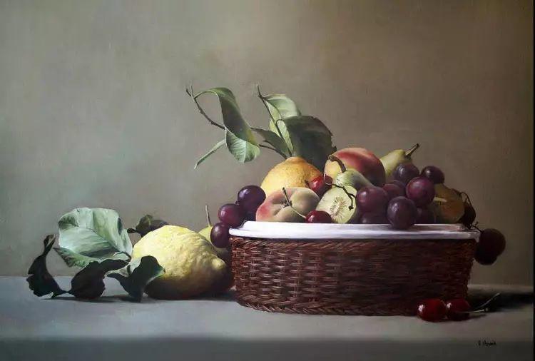 油画世界 意大利女画家维多利亚.诺瓦克绘画欣赏插图25
