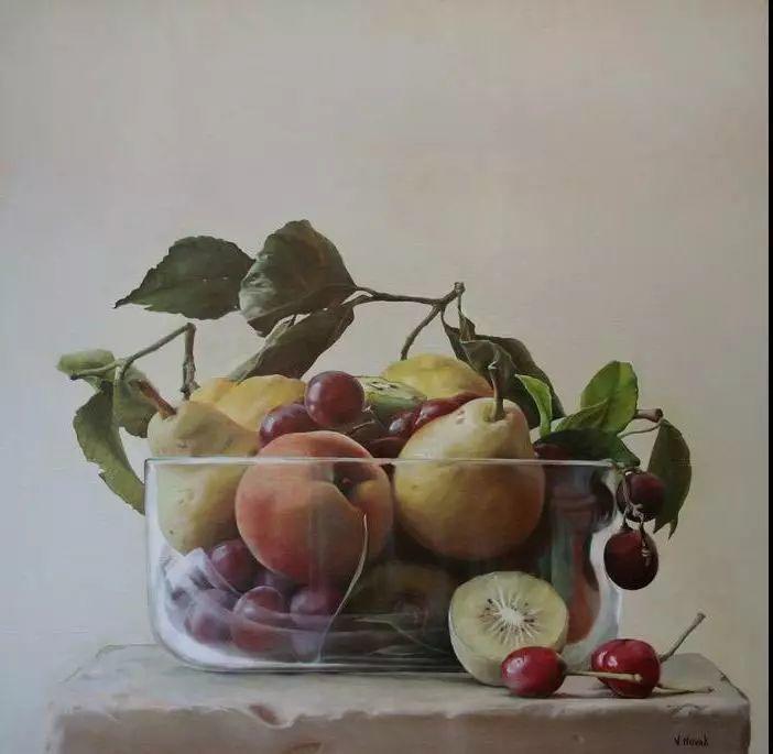 油画世界 意大利女画家维多利亚.诺瓦克绘画欣赏插图33