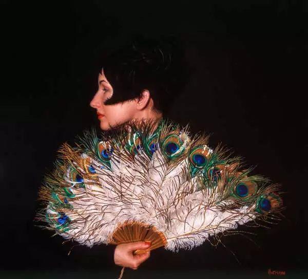 油画世界 美国道格拉斯霍夫曼作品插图5