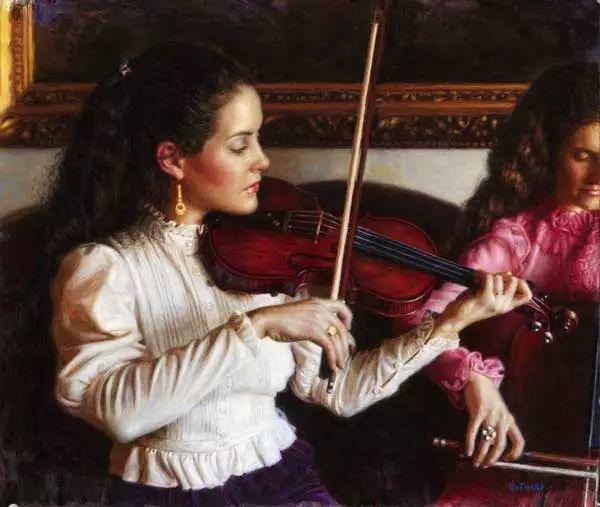 油画世界 美国道格拉斯霍夫曼作品插图7
