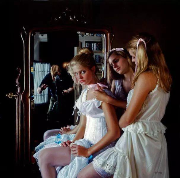 油画世界 美国道格拉斯霍夫曼作品插图9